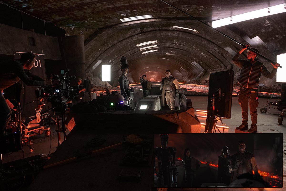 The Mandalorian VFX Shot