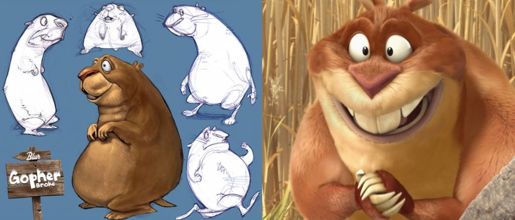 Looking back at 'Sonic' director Jeff Fowler's Oscar-nominated 'Gopher Broke'