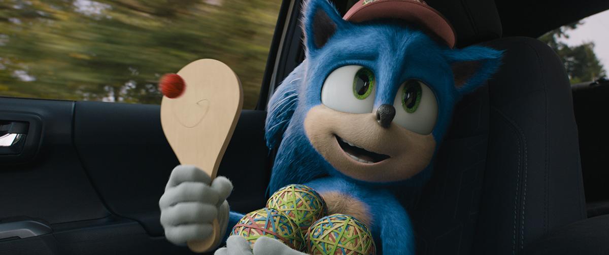 Sonic movie scene