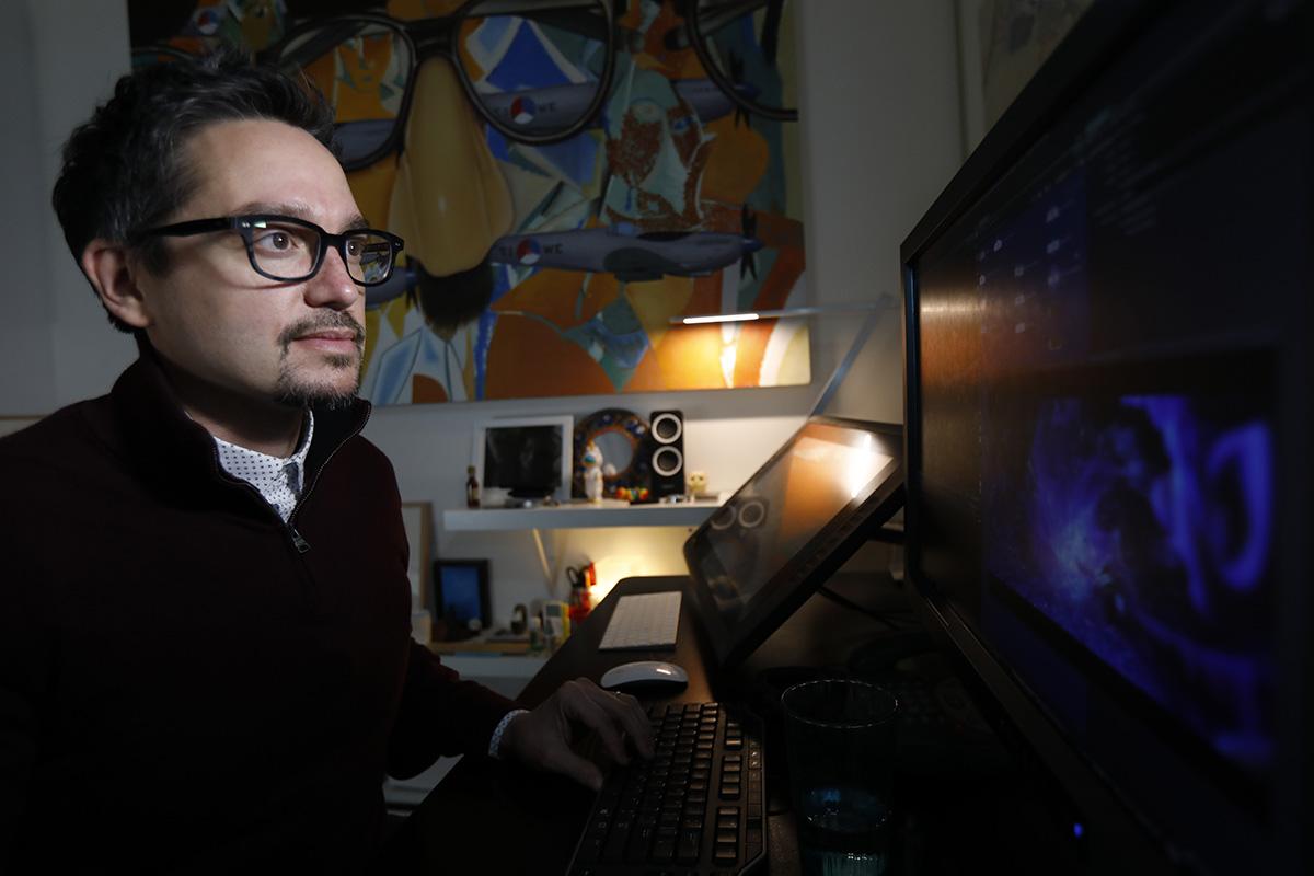 Effects supervisor Vincent Serritella