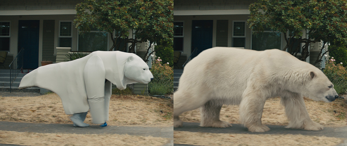 CG polar bear