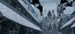 VFX for Carnival Row: Wings, water and environments