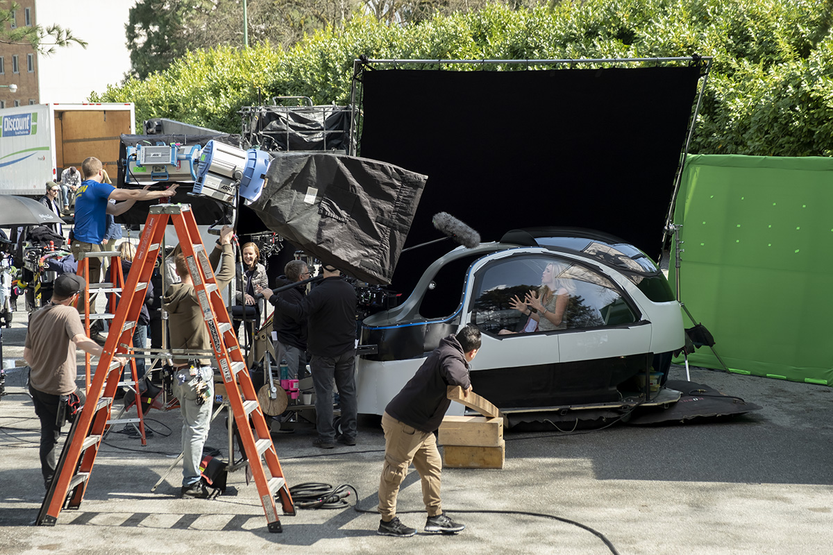 The art of VFX for a comedy show