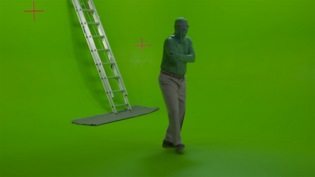 Pixar did some greenscreen experiments for 'Onward's' Dad character