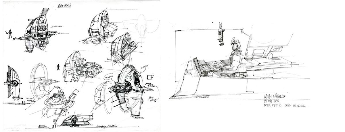 Slave 1 concepts by Nilo Rodis