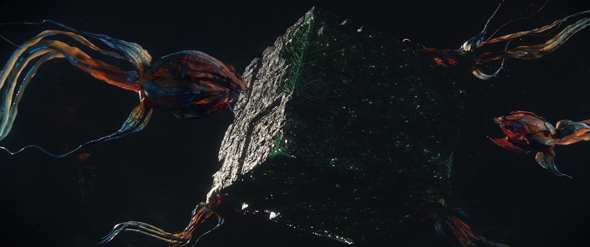 Here's what 'Picard's' CG modelers had to concentrate on for the Borg cube