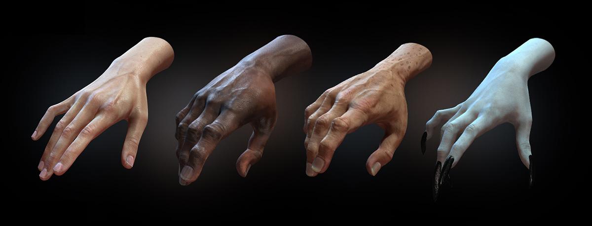 SkinGen: dynamic skin effects