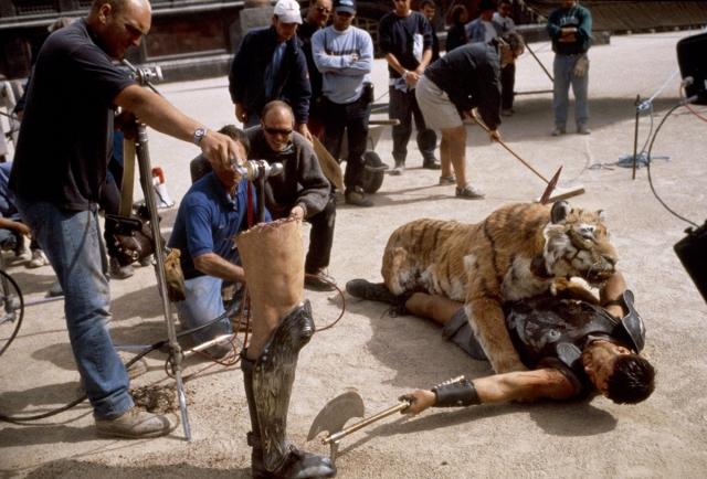 'Gladiator's' prosthetic tiger
