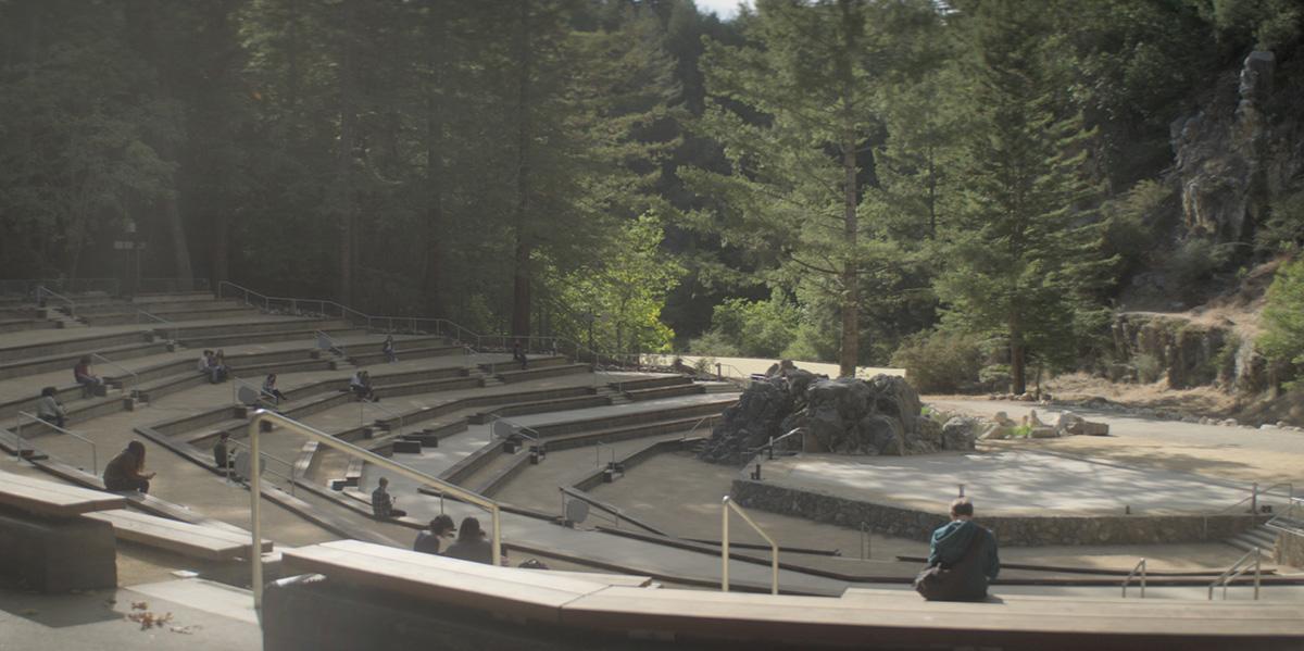 Amphitheatre plate