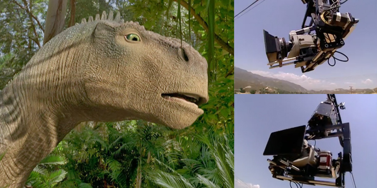 Dino-cam! All about 'Dinosaur's' computerized cable camera system