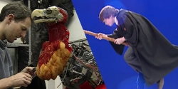 Some VFX nostalgia: 'Harry Potter' quidditch and the creature shop
