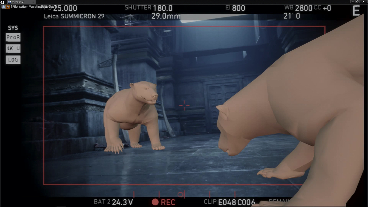 How virtual production was used to make 'His Dark Material's' big bear fight
