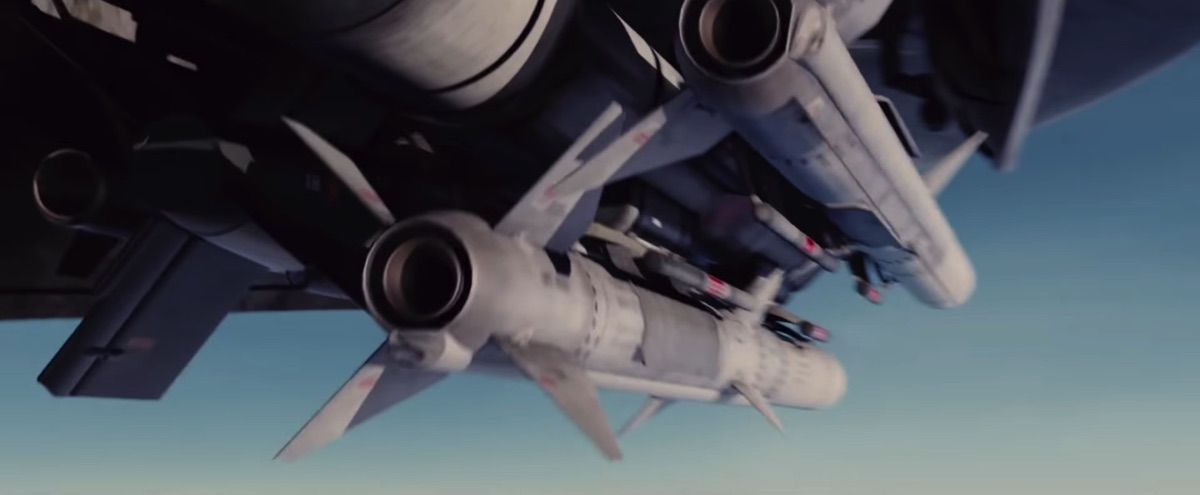 'Stealth' has the most memorable movie missile launch shot. Ever.
