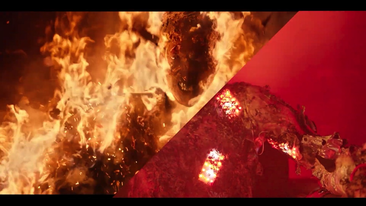 Fire, prosthetics, LEDs and VFX: 'Project Power'