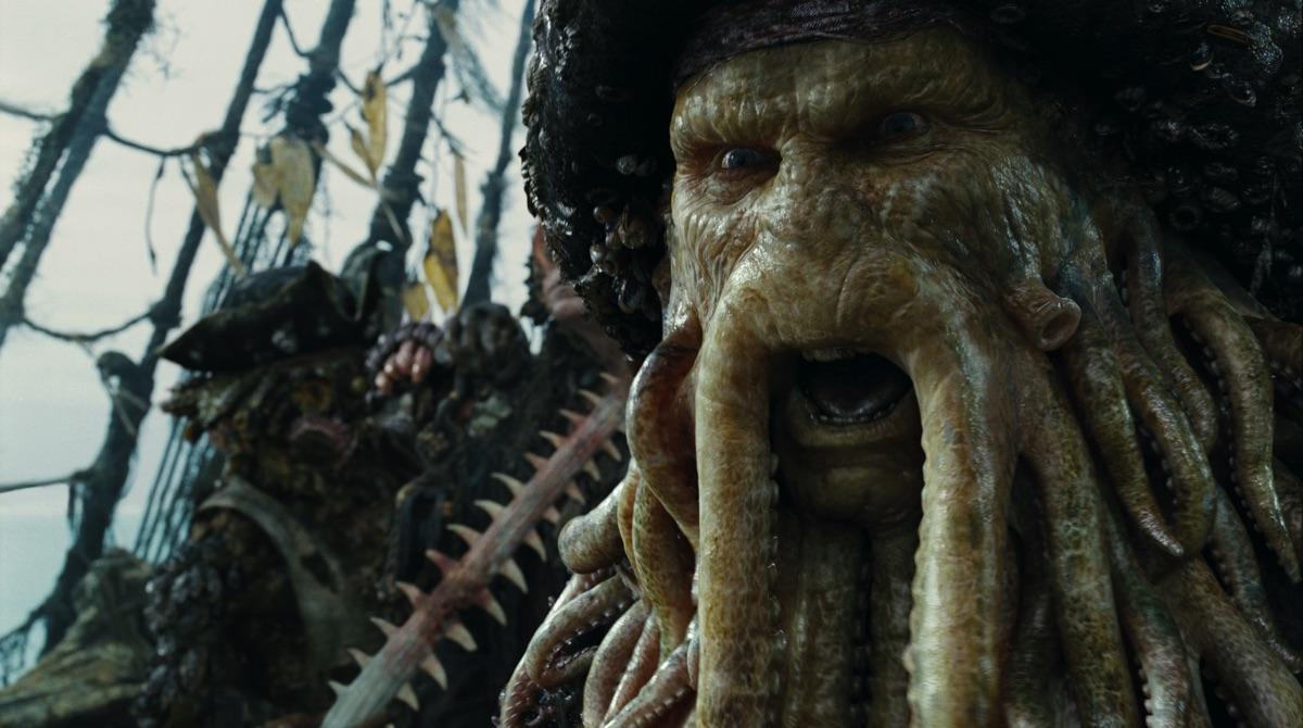 Retro RenderMan: ILM's stunning Davy Jones