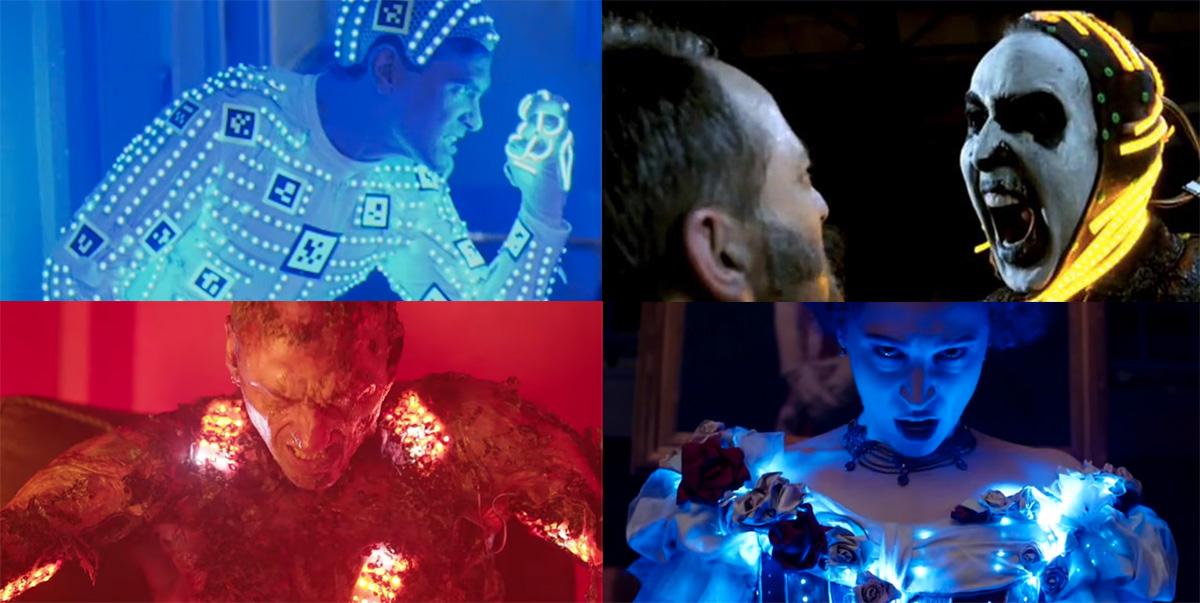How 4 films used LED strips to illuminate actors for interactive light