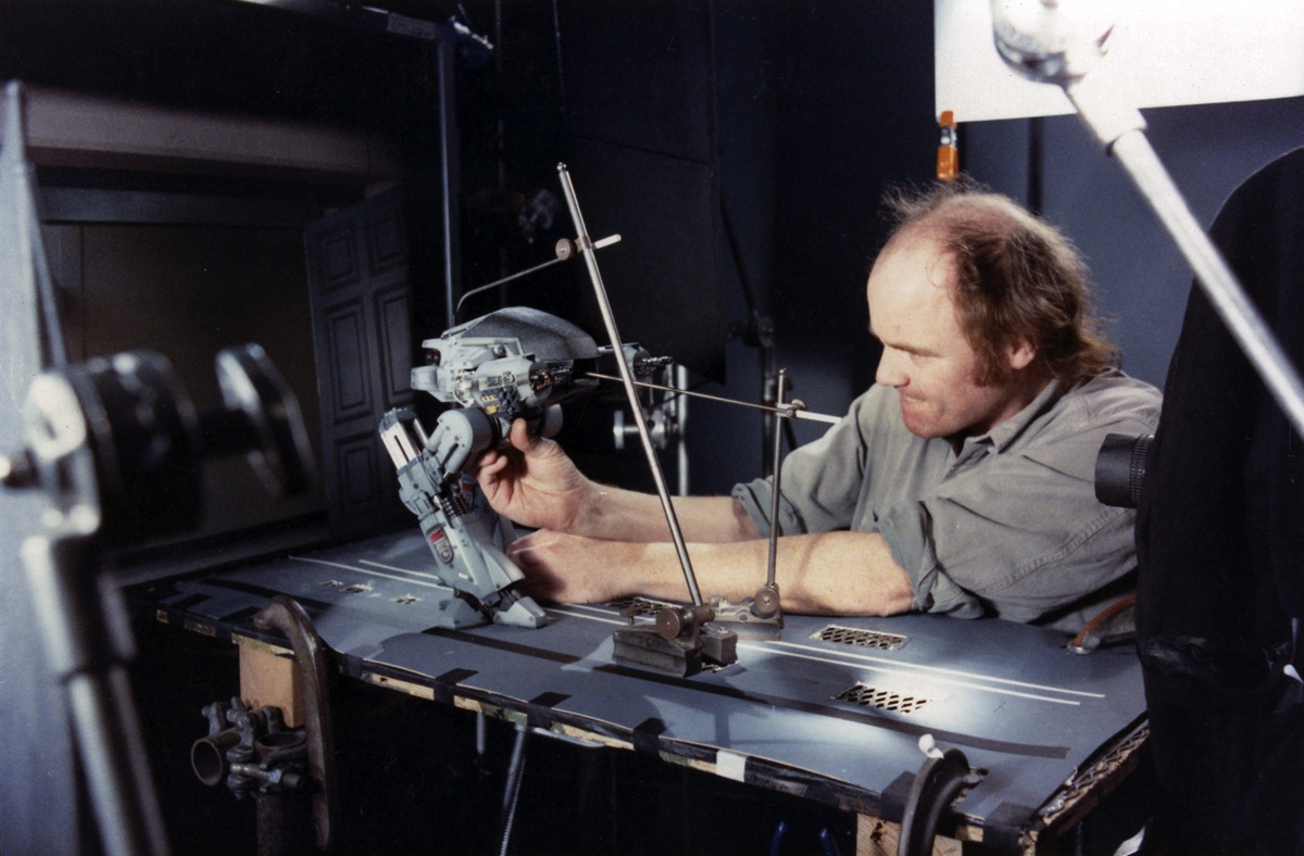 The newest speaker announced for VIEW Conference is…Phil Tippett!