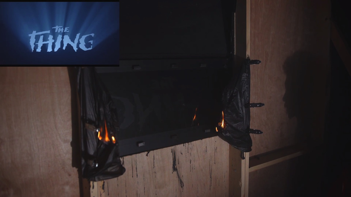 Practical effects: learn to make this 'The Thing' title burn