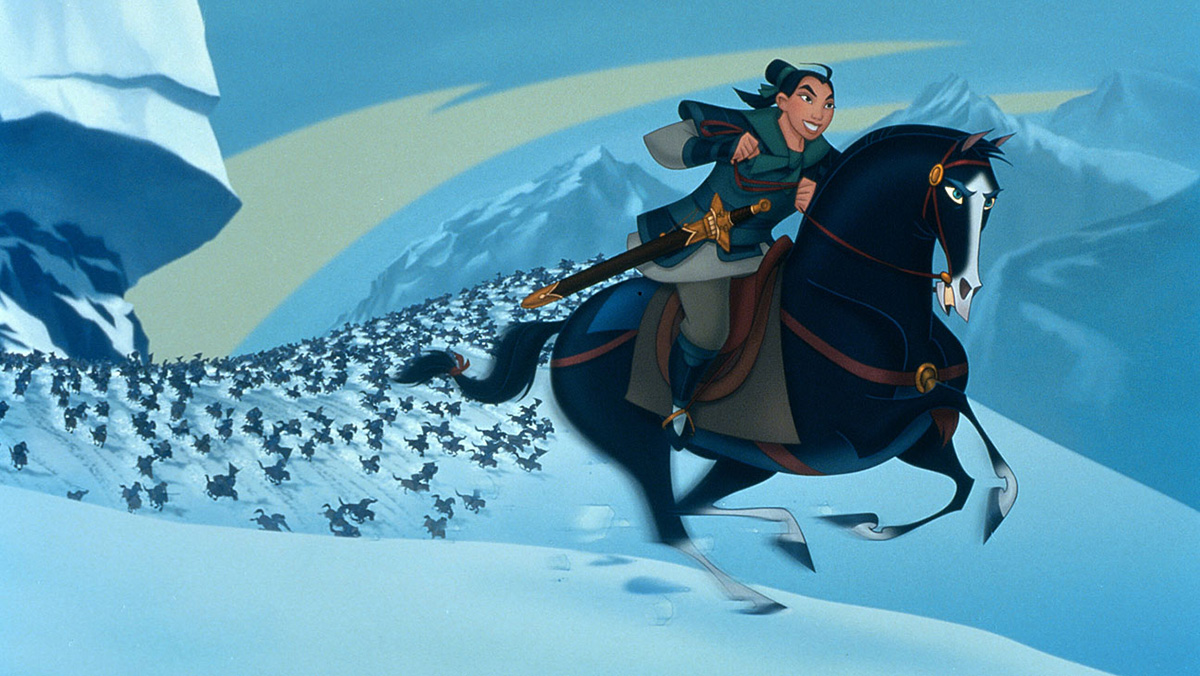 The CG side of the animated 'Mulan'