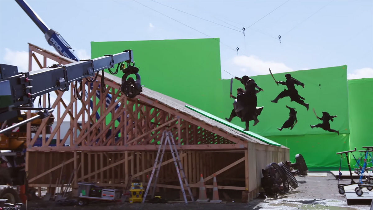 What life was like as the VFX producer on 'Mulan'