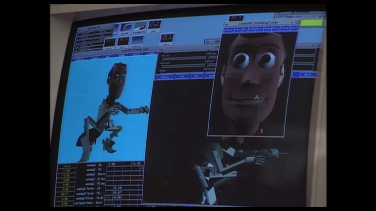 You definitely want to see these old-school 'Toy Story' featurettes