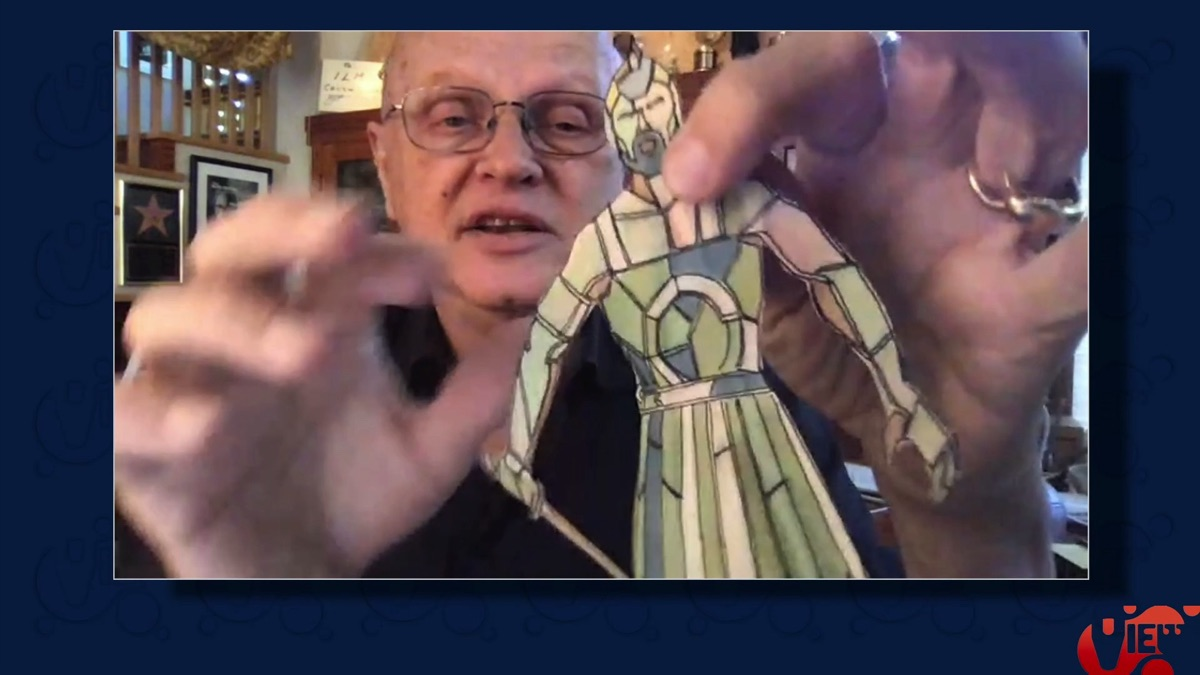 Dennis Muren on the origins of 'Stained Glass Man' in 'Young Sherlock Holmes'