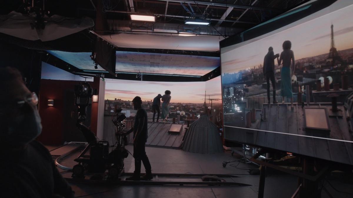 Go behind a virtual production studio setup