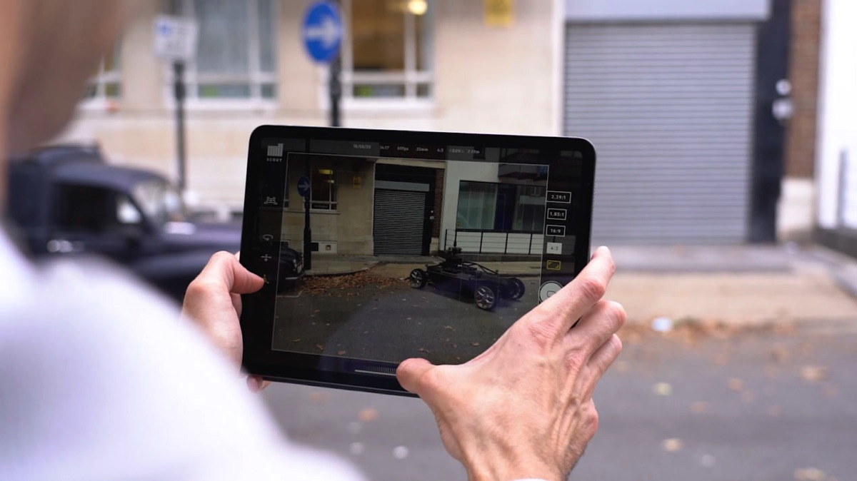 A new augmented reality app from The Mill