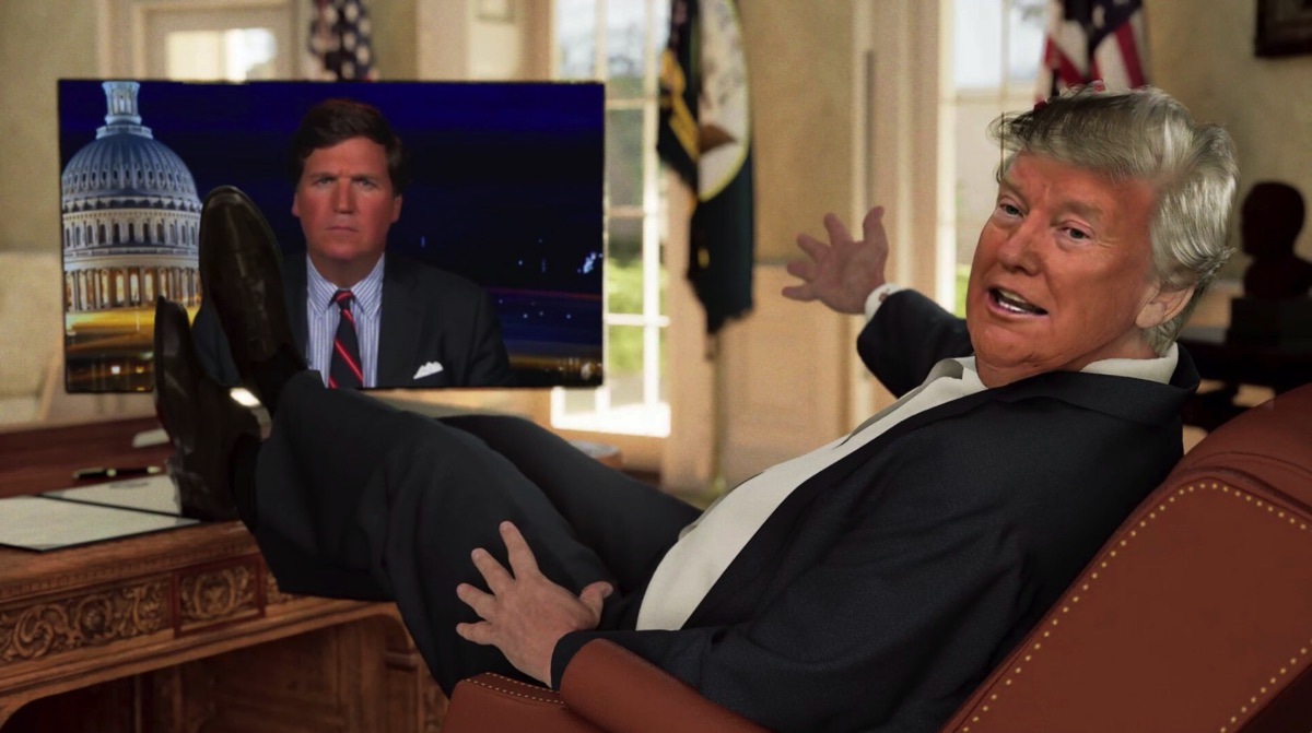 Remote mocap, deep fakes and Donald Trump