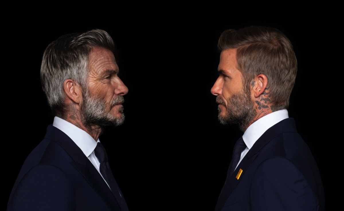 How Digital Domain aged David Beckham