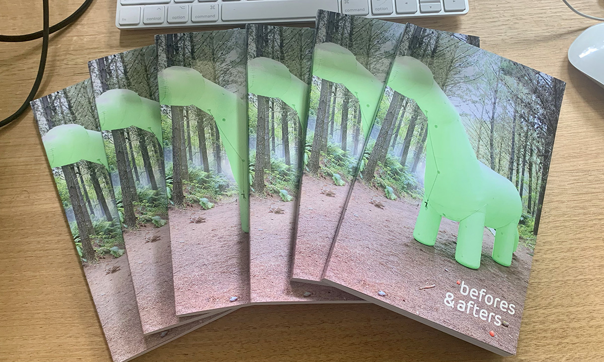 It's here: issue #1 of befores & afters in print