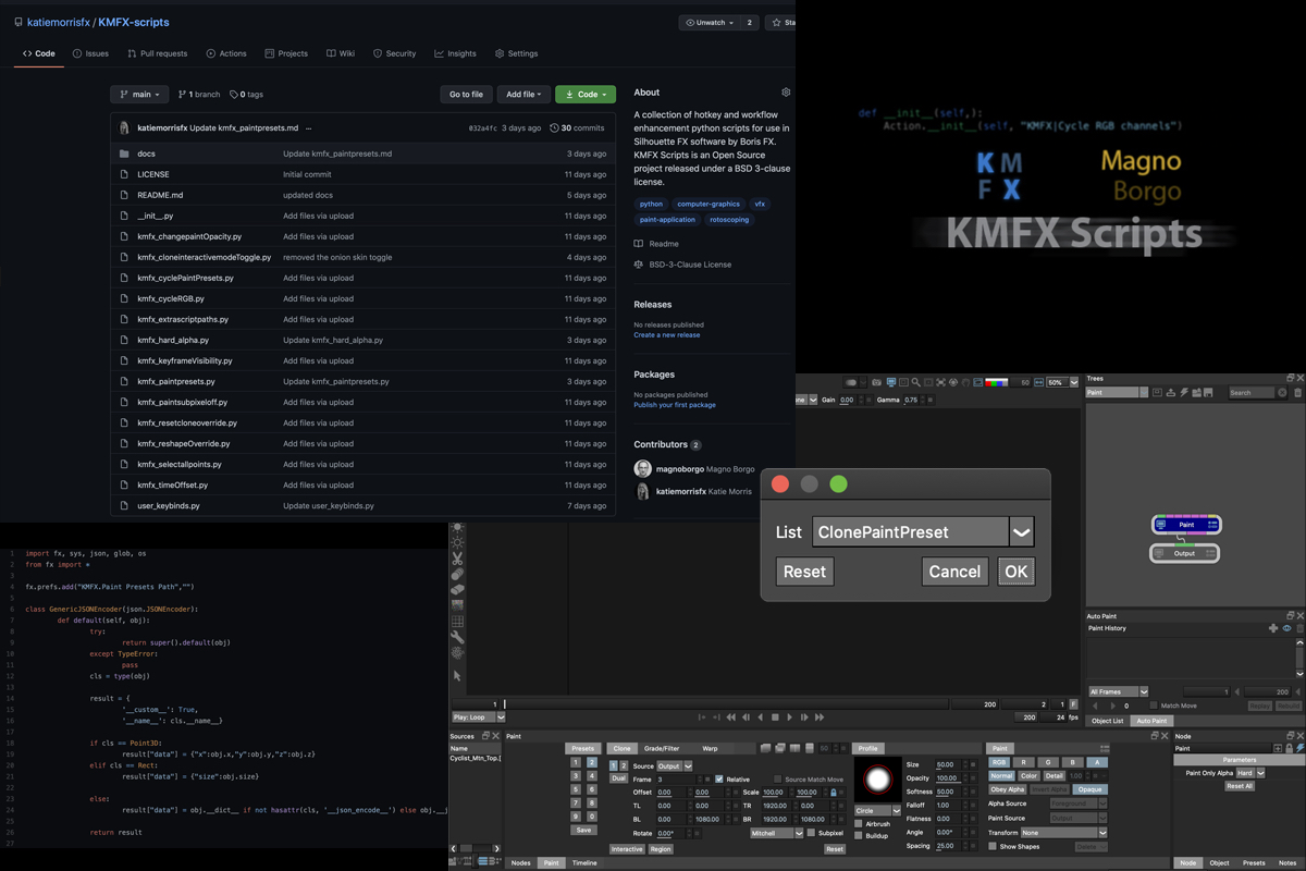 These open source Silhouette scripts could help your roto workflow