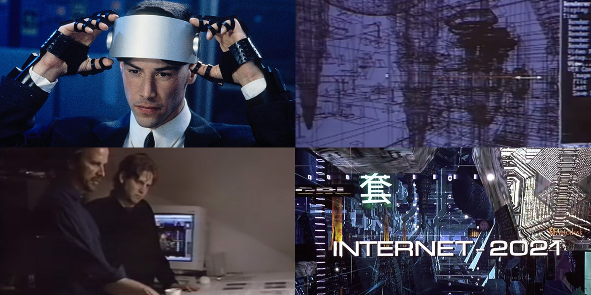 How the '2021' internet of 'Johnny Mnemonic' was imagined in 3D Studio