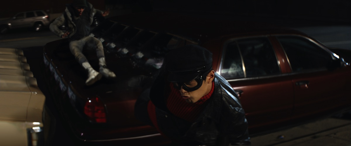 Flashback to the cool Kato-vision shots in 'The Green Hornet'