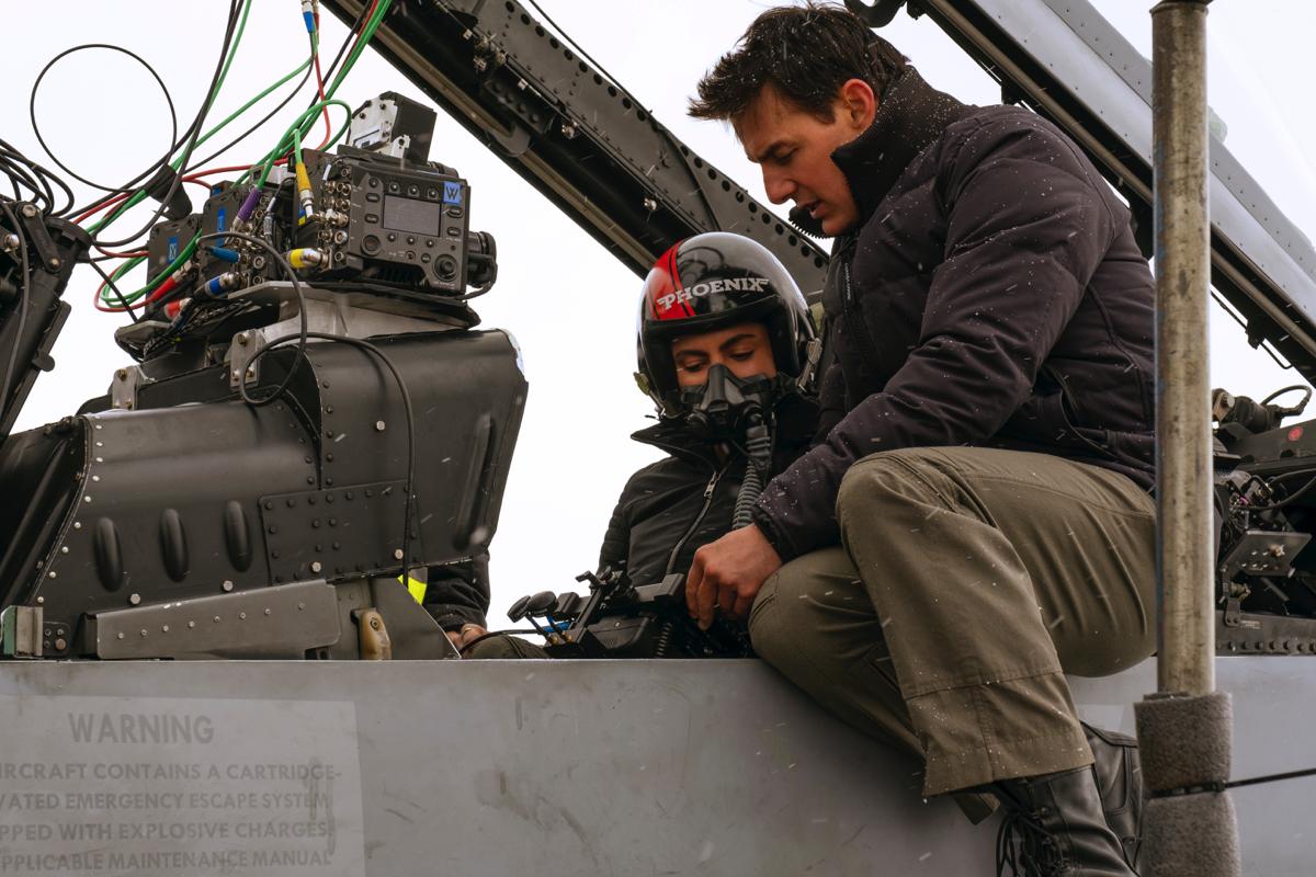 Inside the cockpit of 'Top Gun: Maverick'