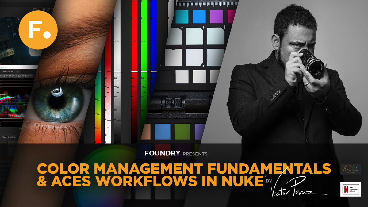 Victor Perez to share color management fundamentals in partnership with Foundry and Netflix