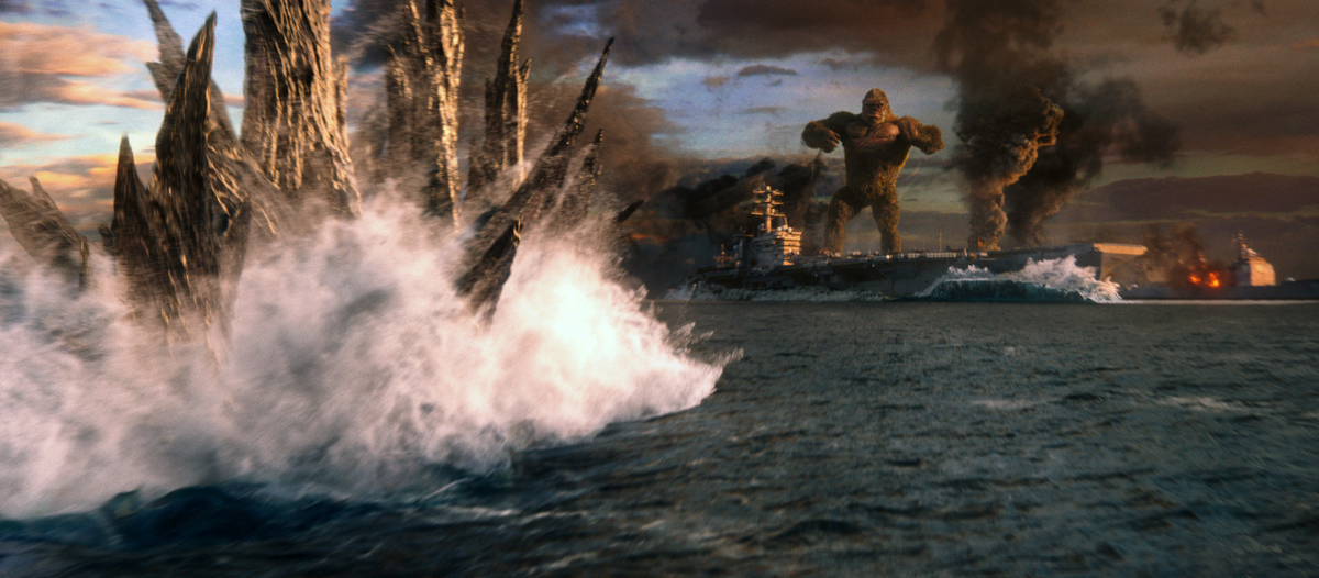 How Kong's ocean showdown with Godzilla was made