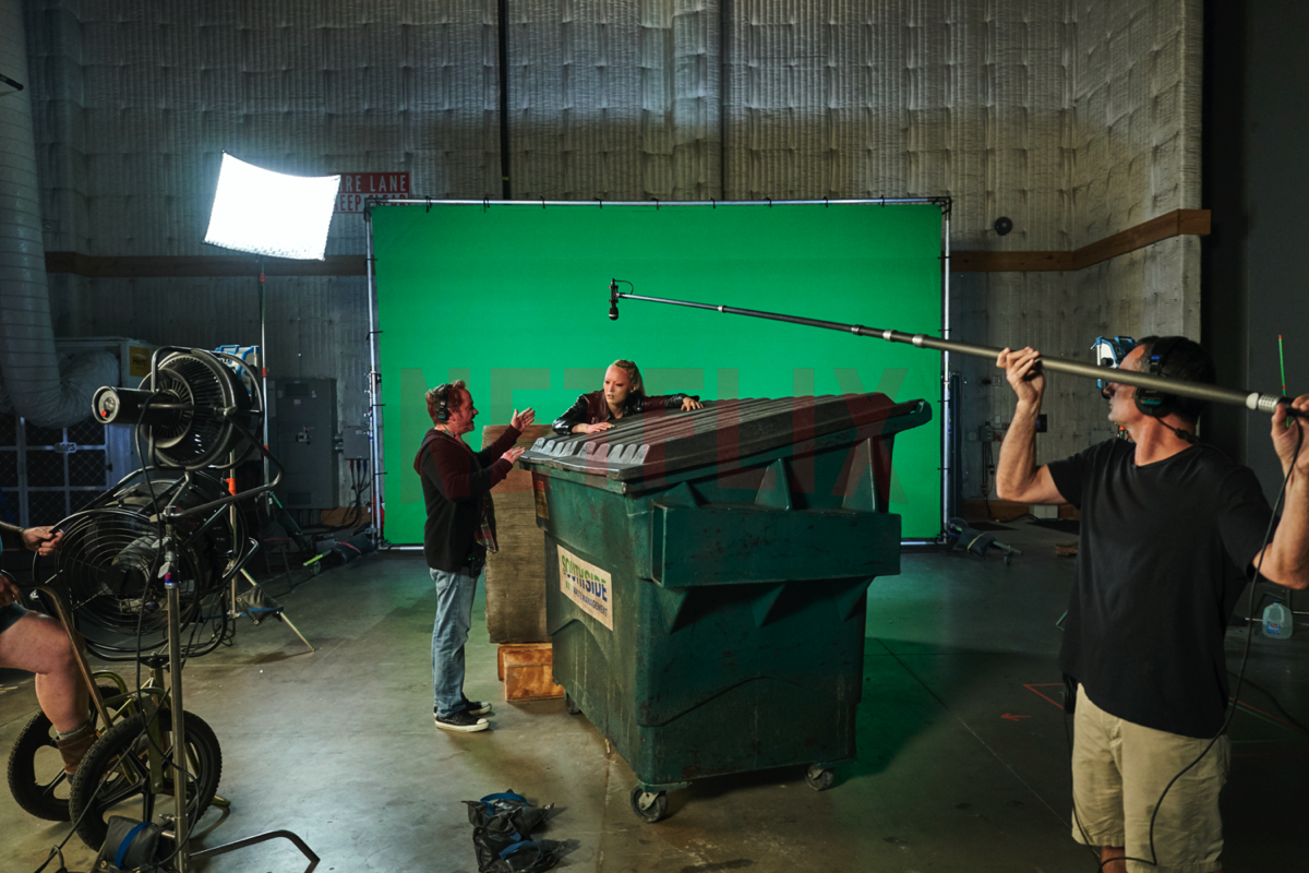 Shooting 'Thunder Force'