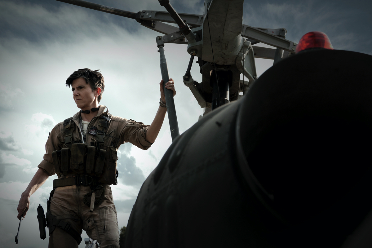 Tig Notaro's greenscreen shoot, her digi-double and the VFX required to place her into the already-filmed 'Army of the Dead'