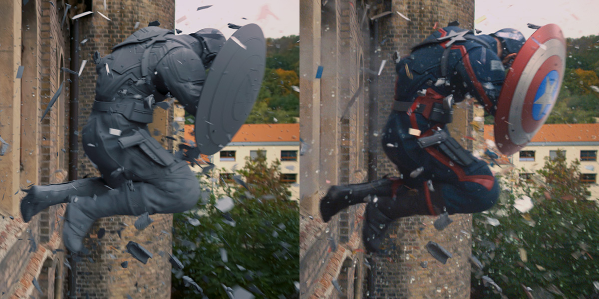 The effects you probably didn't notice in 'The Falcon and the Winter Soldier'