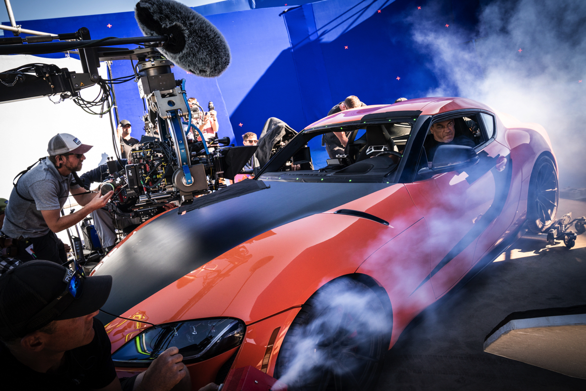 How the 'F9' filmmakers used camera arrays and bluescreen shoots to make fast action