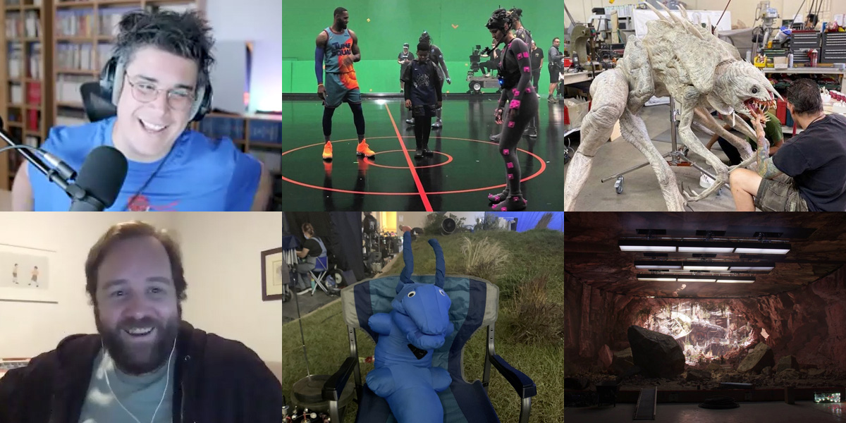 VFX Notes: Ep 4 – Space Jam 2, Tomorrow War, Loki, and a look at LED volume filmmaking