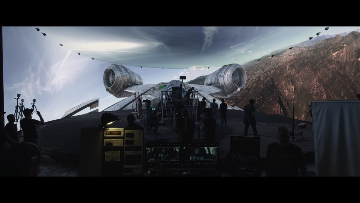 This new VFX breakdown for s2 of 'The Mandalorian' has some amazing behind the scenes
