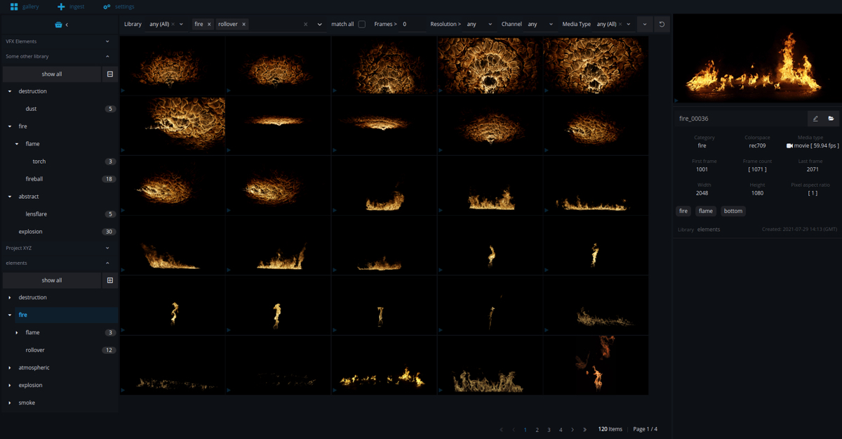 das element: new asset library software for visual effects