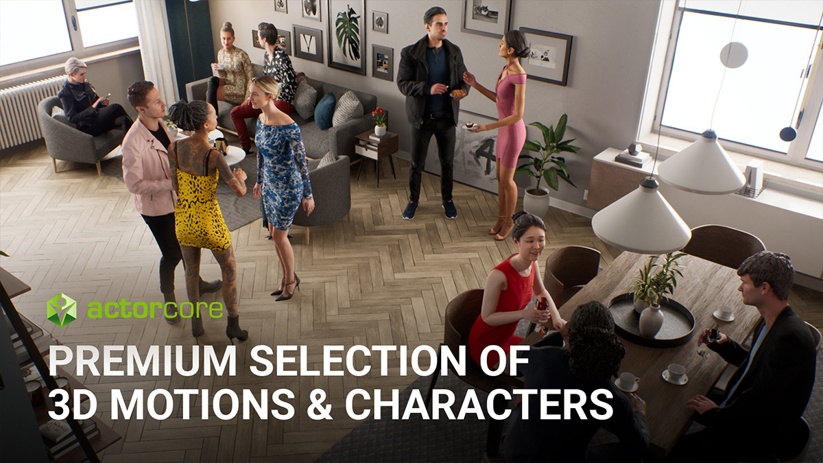 ActorCore's Next Generation Characters Revive Business Simulations