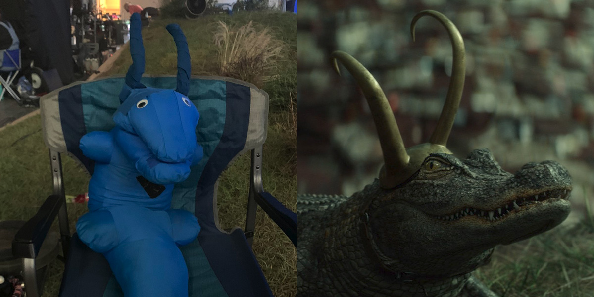 How ILM made Alligator Loki