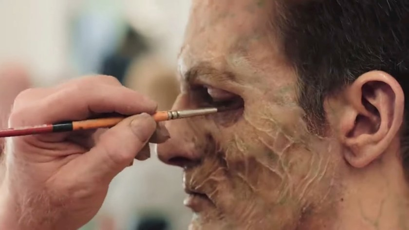 Netflix runs down a raft of make-up effects projects in this video