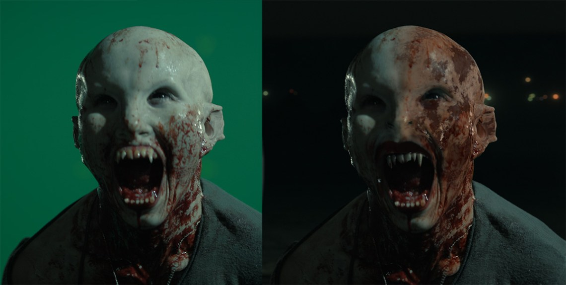 How-to: extend a vampire face