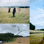 Go behind the scenes of that insane Burberry 'Open Spaces Film'