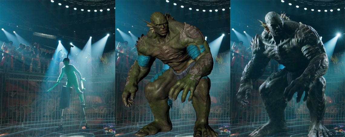 VFX artists used Marvel's actual original CG model of Abomination from 'The Incredible Hulk' as reference for his new scenes in 'Shang-Chi'